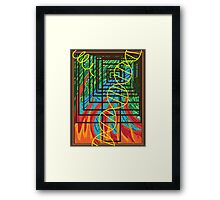 Born of the Fire Framed Print