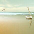 Soft Sunrise on the Beach by Carlos Casamayor