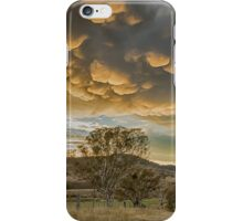 mammatus clouds canberra iPhone Case/Skin