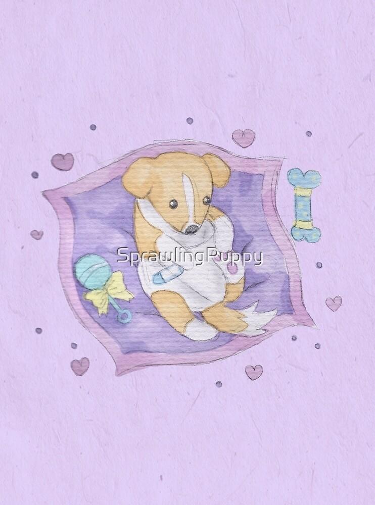 Sprawling Bambino by Katie Corrigan