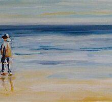 Evening walk by Elizabeth Moore Golding