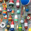 Lobster Buoy colours by Roxane Bay