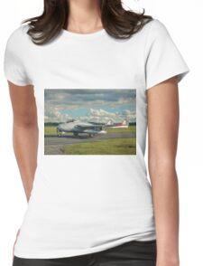 De Havilland Vampire FB.6 LN-DHY Womens Fitted T-Shirt