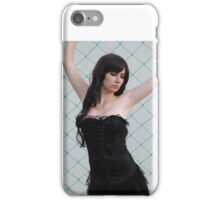Black Corset 2 iPhone Case/Skin