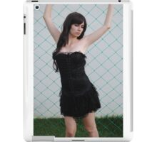Black Corset 2 iPad Case/Skin