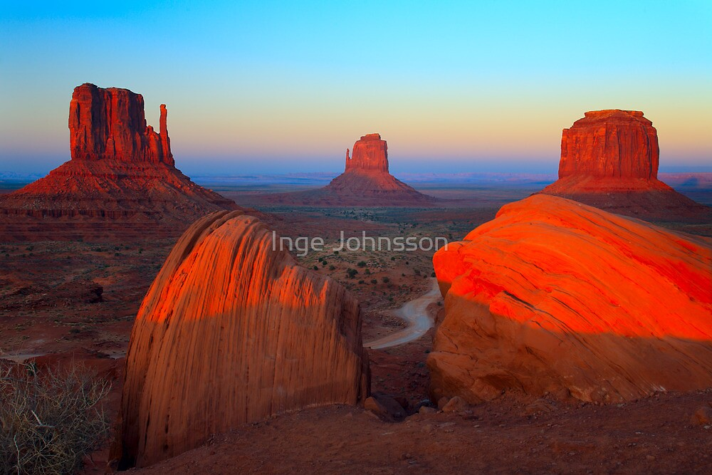 Monument Valley by Inge Johnsson