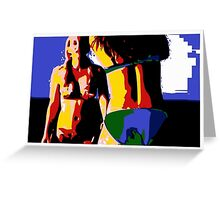 Beach Girls 1 Greeting Card