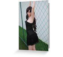 Black Corset 4 Greeting Card