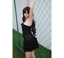 Black Corset 4 Photographic Print