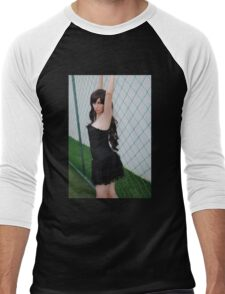 Black Corset 4 Men's Baseball ¾ T-Shirt