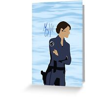 Maria Hill Greeting Card