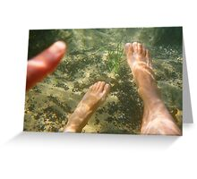 Ocean Pool # 2 Greeting Card