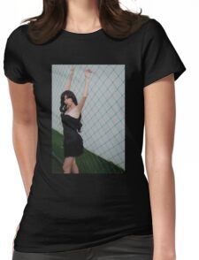 Black Corset 5 Womens Fitted T-Shirt