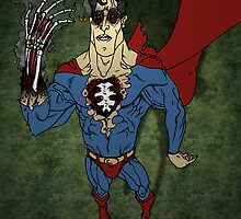 "Super Zombie ""HOT, HOT, HOT!!"" - Coloured by Michael Lee"