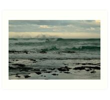 Wispy Surf, Great Ocean Road Art Print
