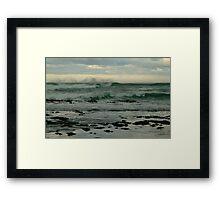 Wispy Surf, Great Ocean Road Framed Print