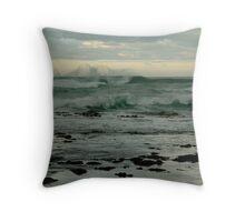 Wispy Surf, Great Ocean Road Throw Pillow