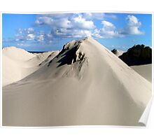 Pyramids of sand Poster