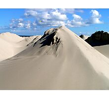 Pyramids of sand Photographic Print