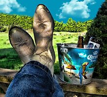 KICKIN BACK COUNTRY STYLE..PICTURE-PILLOW-TOTE BAG ECT by ✿✿ Bonita ✿✿ ђєℓℓσ