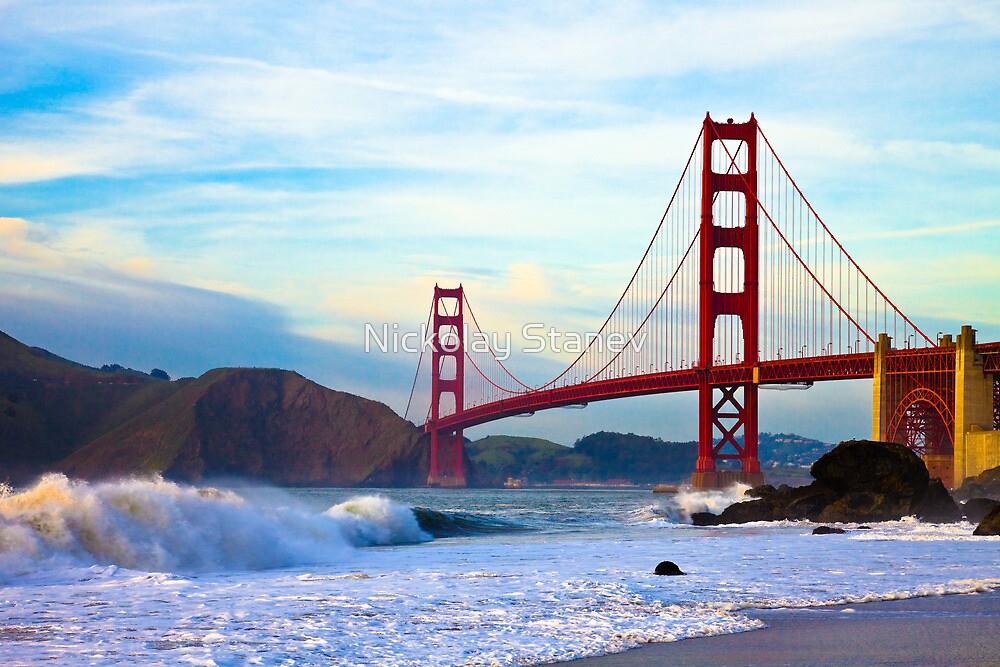 Golden Gate Bridge by Nickolay Stanev