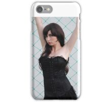 Black Corset 7 iPhone Case/Skin