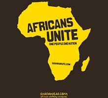 Africans unite Unisex T-Shirt