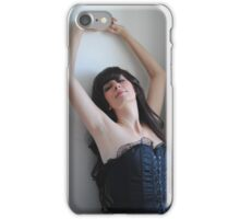Black Corset 9 iPhone Case/Skin