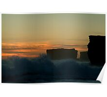 Wave Power,Sherbrooke Beach,Great Ocean Rd Poster