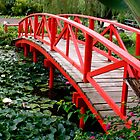 Red Bridge 1 by Maureen Clark