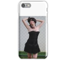 Black Corset 11 iPhone Case/Skin