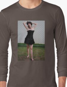 Black Corset 11 Long Sleeve T-Shirt