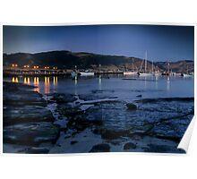 Twilight, Apollo Bay Harbour,Great Ocean Rd Poster