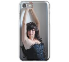 Black Corset 12 iPhone Case/Skin
