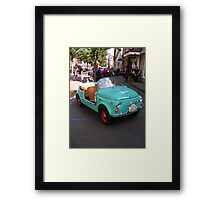 Wanna compete with the big boys! Framed Print