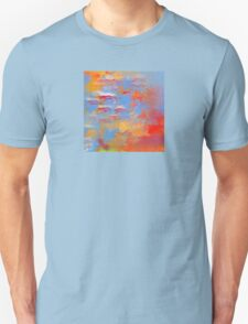Fire and Water Abstract T-Shirt