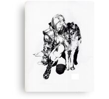 Sniper Wolf Canvas Print