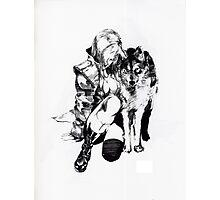 Sniper Wolf Photographic Print