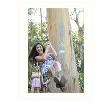 Tree Swinger Art Print