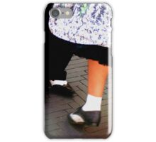 Two tone dancing shoes iPhone Case/Skin
