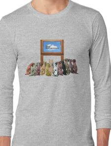 Whats on telly? Long Sleeve T-Shirt