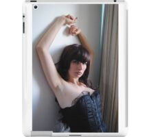 Black Corset 17 iPad Case/Skin