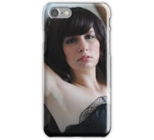 Black Corset 20 iPhone Case/Skin
