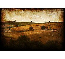 *Tuscan Landscape* Photographic Print