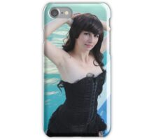 Black Corset 23 iPhone Case/Skin
