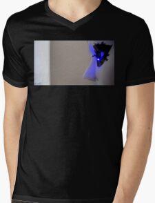 Masked Mens V-Neck T-Shirt
