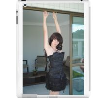 Black Corset 25 iPad Case/Skin