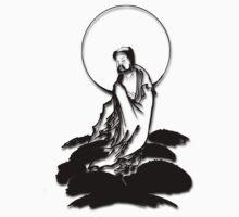 Moon Buddha by buddhabubba