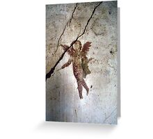 Angel Of Pompeii Greeting Card