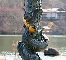 Dragon Statue by Brandon McKernan